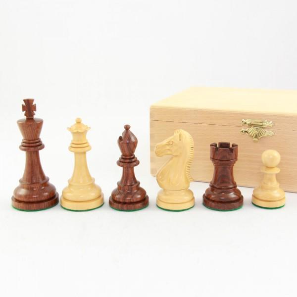 """Schachfiguren aus Holz """"Tournament"""", (K95)"""