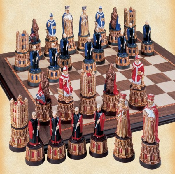 Schachfiguren Canterbury Cathedral