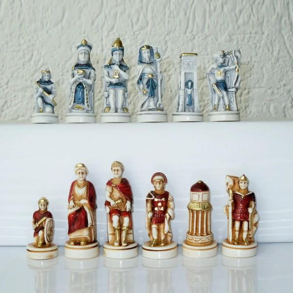 """Schachfiguren """"Cleopatra"""""""