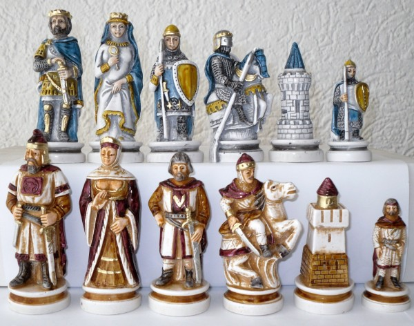 "Schachfiguren ""Cornish Rebellion von 1497"""
