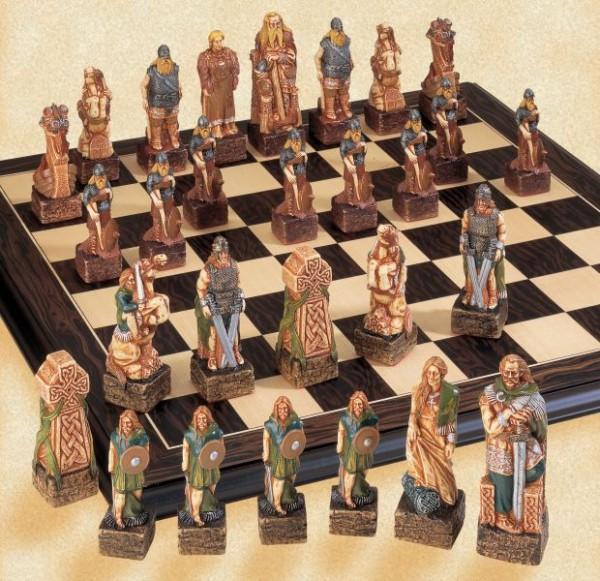 Kelten Schachfiguren a177s