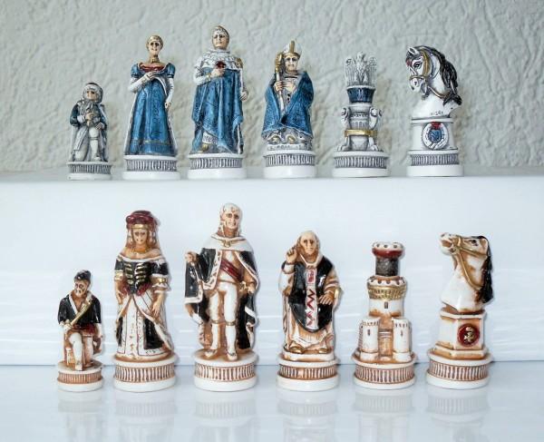 """Schachfiguren """"Schlacht von Spanien"""""""