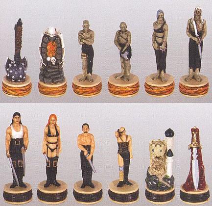 Schachfiguren SM