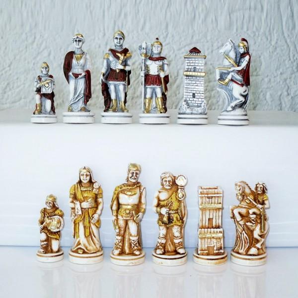 """Schachfiguren """"Schlacht von Actium"""""""