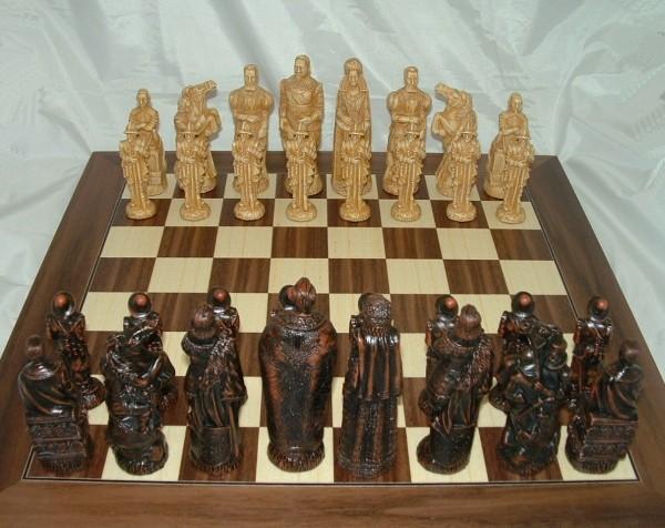 """Schachfiguren """"30-jähriger Krieg"""""""