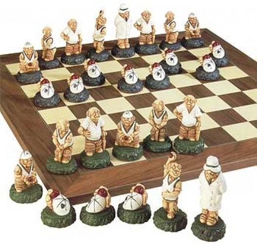 The Village series Cricket Schachfiguren a181s
