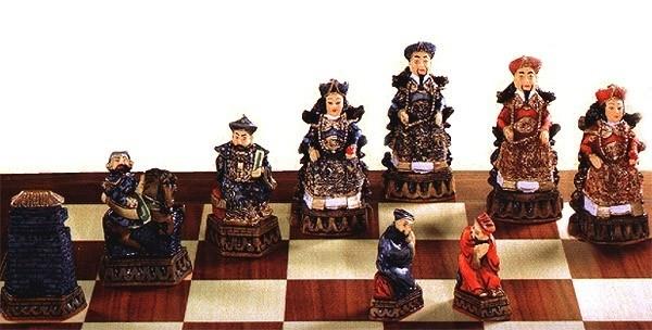 Shanghai Schachfiguren a141p