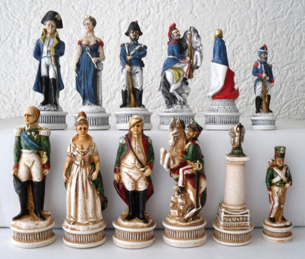 """Schachfiguren """"Napoleon"""""""