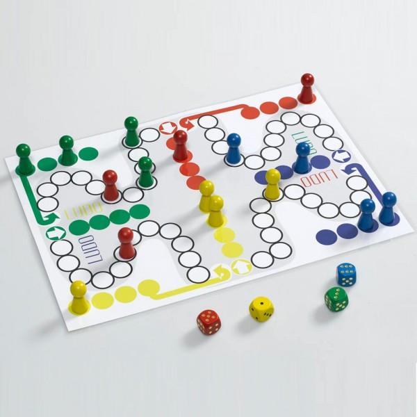 """Riesiges Ludospiel """"Titan"""", Spielplan 420 x 597 mm (A2)"""
