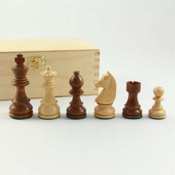 Schachfiguren aus Holz, Staunton-Form, (K63)