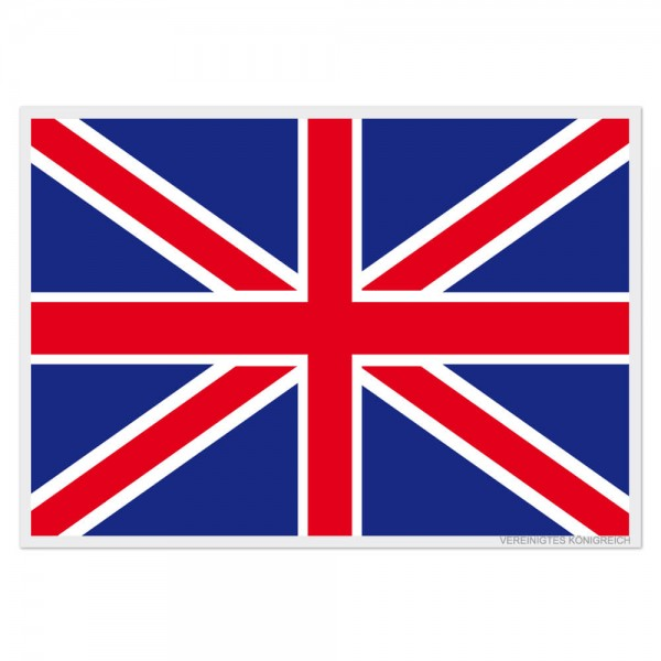 Selbsthaftende Flagge - Vereinigtes Königreich (A3)