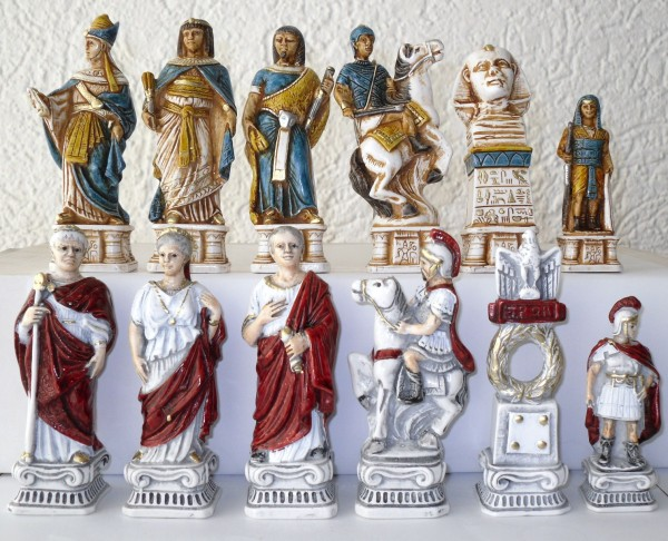 "Schachfiguren ""Schlacht bei Actium"""
