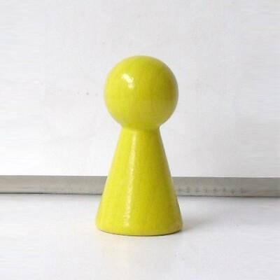 """Figurenkegel , Spielfigur """"Titan"""", Halmakegel aus Holz (60 mm), gelb"""