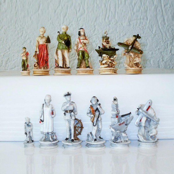 "Schachfiguren ""Pearl Harbor"""