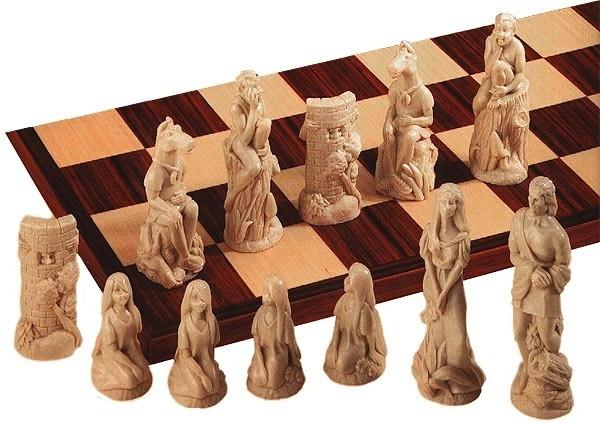 Midsummer Nights Dream Schachfiguren a154