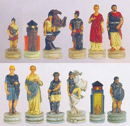 Schachfiguren Griechische Sage