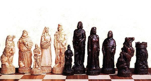 Robin Hood Schachfiguren a158