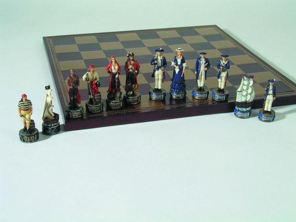 Schachfiguren Seeräuber