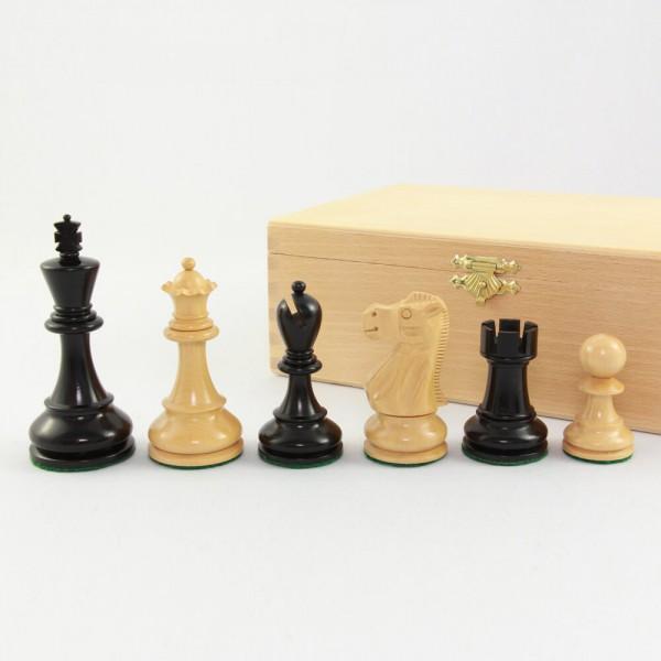 "Schachfiguren aus Holz ""Original Jaques Staunton"", (K95)"