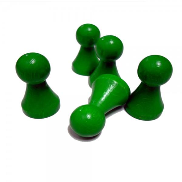 "extra großer grüner Halmakegel ""Maxi Plus"" 28 x 50 mm aus Holz"