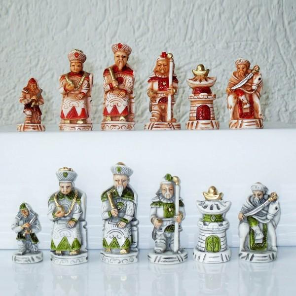 """Schachfiguren """"Schlacht der Chinesen"""""""