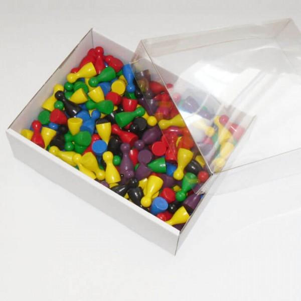 200 er - Set Halmakegel (25 mm), farblich gemischt
