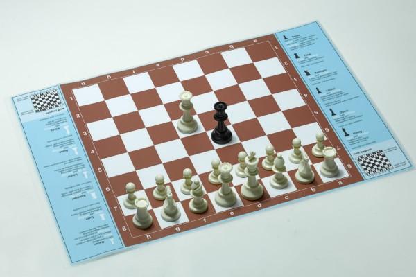 Schachspiel Schach für Anfänger, 30x42 cm