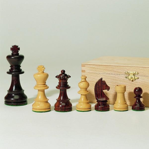 Schachfiguren aus Holz, Staunton-Form, (K83)