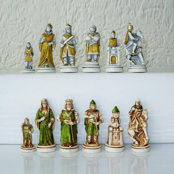 """Schachfiguren """"Camelot"""""""