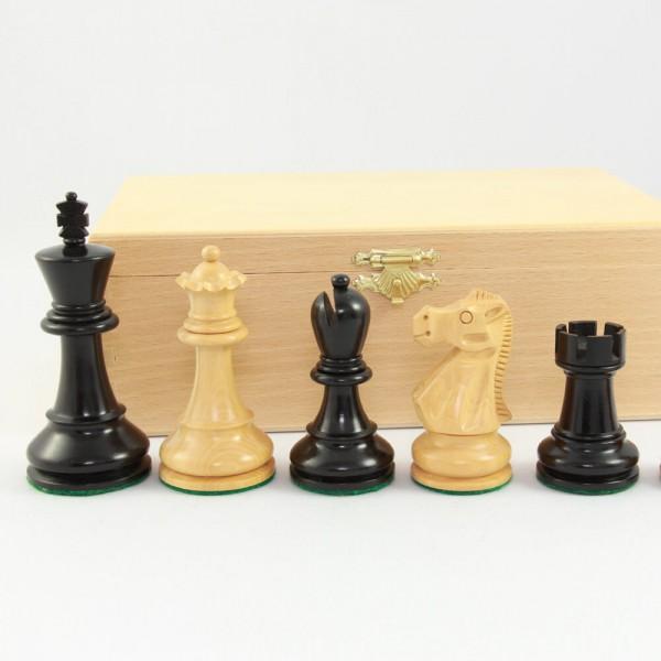 """Schachfiguren aus Holz """"Orginal Jaques Staunton"""", (K95)"""
