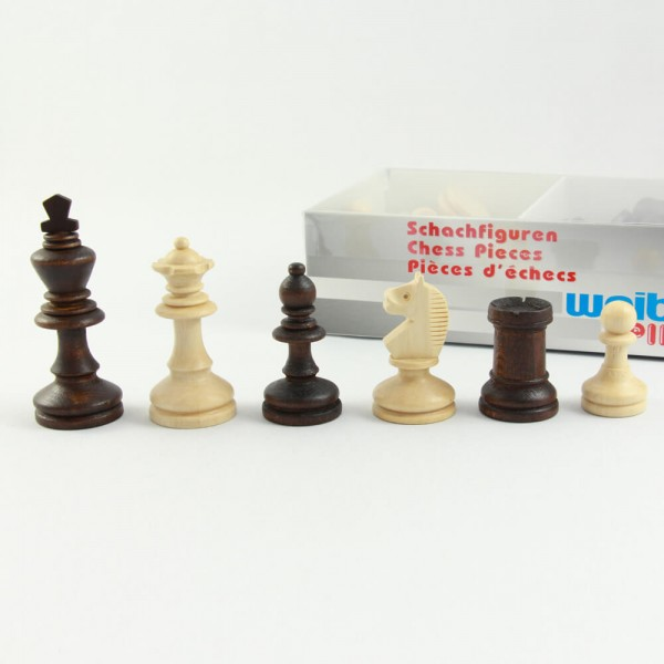 Bohemia Schachfiguren aus Holz, (K72)