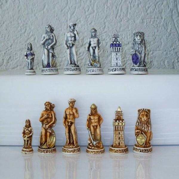 """Schachfiguren """"Florenz"""""""