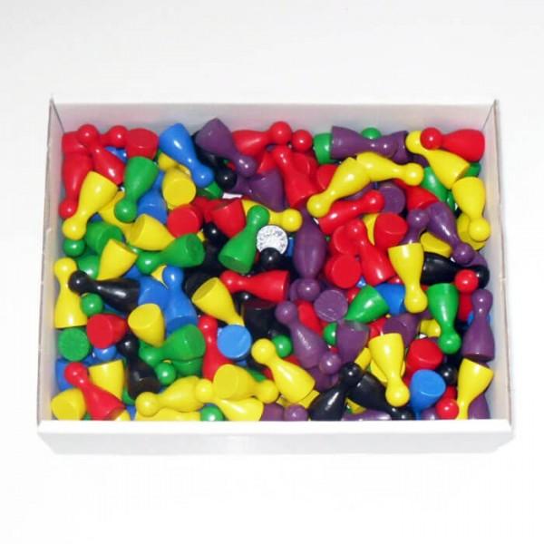 300 er - Set Halmakegel (25 mm), farblich gemischt