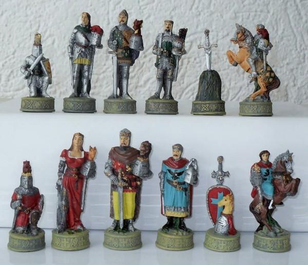 Schachfiguren Excalibur, König Arthur