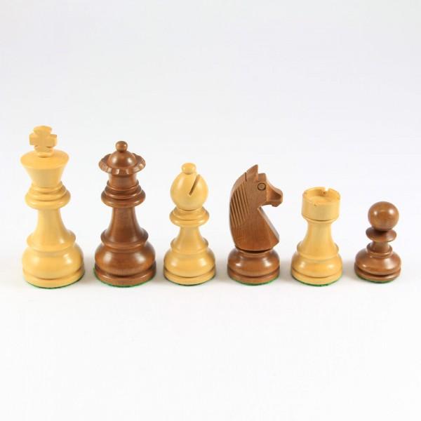 Schachfiguren aus Holz, Staunton-Form, (K95)