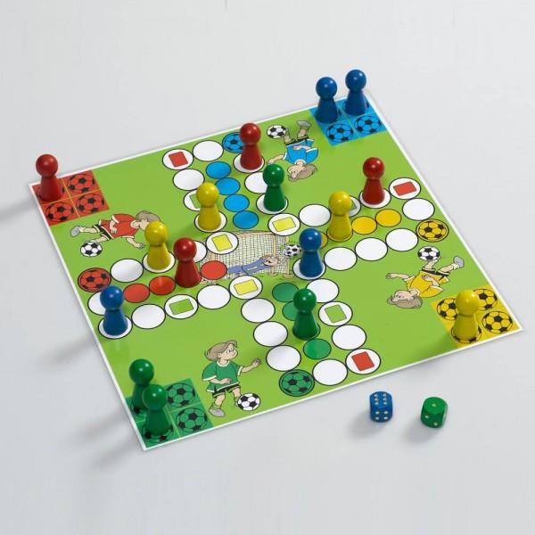 """Magnetisches handliches Reisespiel Ludo """"Fußballkids"""", 21x21 cm"""