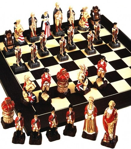 Amerikanischer Revolutionskrieg Schachfiguren