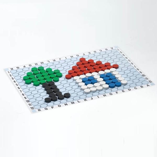 Magnetisches Legespiel - Kreativspiel Lern-und Übungsplan, 30x42 cm