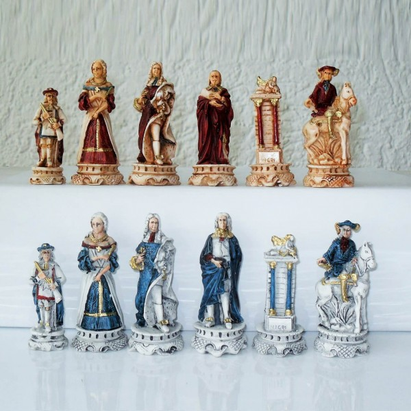 "Schachfiguren ""Luigi XIV."""