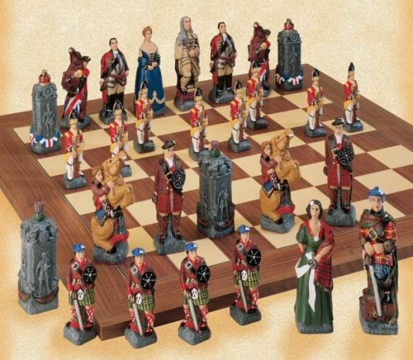 Schlacht von Culloden Schachfiguren a161p