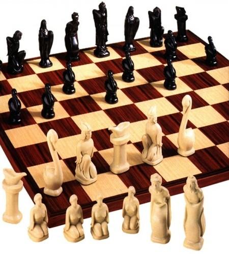 Swan Lake Schachfiguren a168