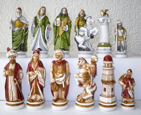 """Schachfiguren """"Schlacht von Lepanto"""""""
