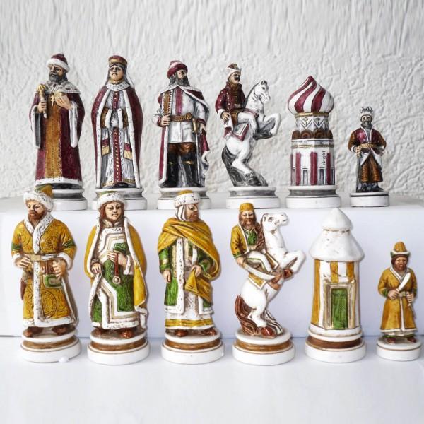 """Schachfiguren """"Schlacht von Kazan"""""""