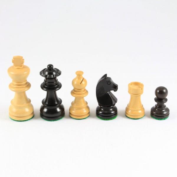 Schachfiguren aus Holz, Staunton-Form, (K70)