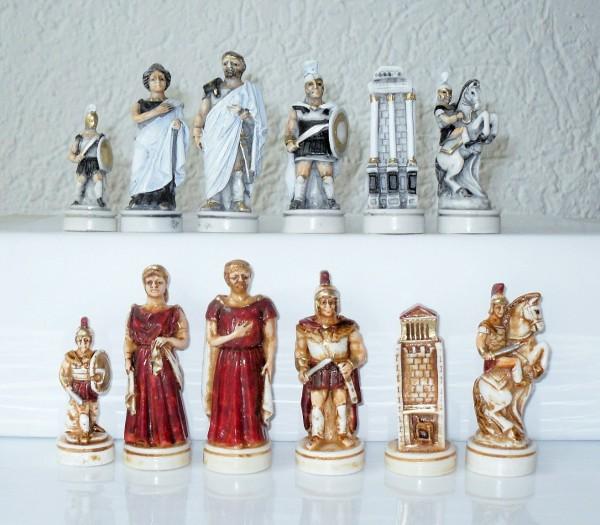 """Schachfiguren """"Schlacht von Troja"""""""
