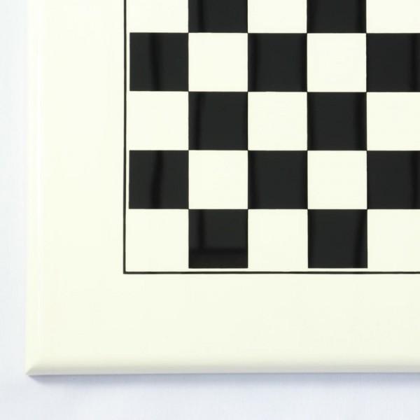 Schachbrett schwarz/weiß lackiert (Feldgröße 35 mm)