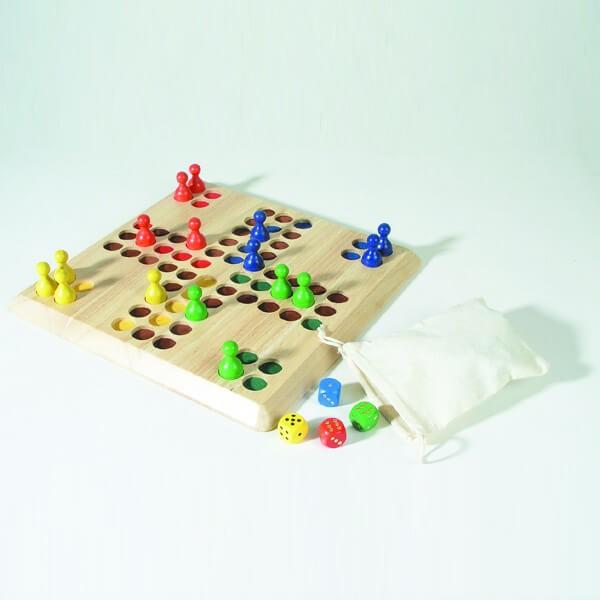 Ludo Maxi-Holzspiel
