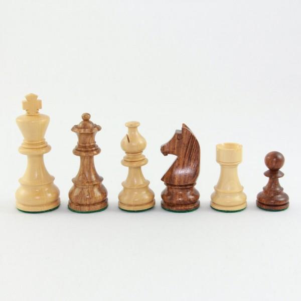 Schachfiguren aus Holz, Staunton-Form, (K76)