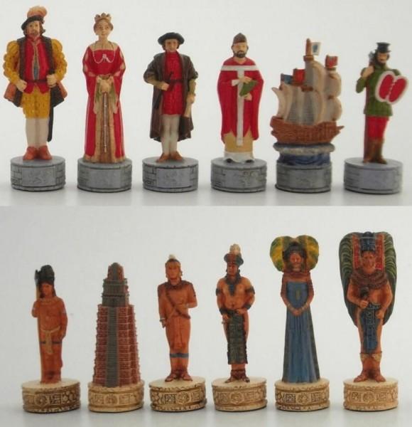 Schachfiguren Christoph Columbus