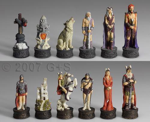 Schachfiguren Nordisches Sagenreich
